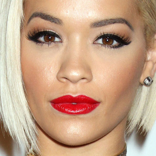 Perrie Edwards Steal Her Style 2014 Rita Ora Makeup: Black...