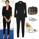Selena Gomez: 2014 Teen Choice Awards Outfit