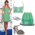 Taylor Swift: 2014 Teen Choice Awards Outfit