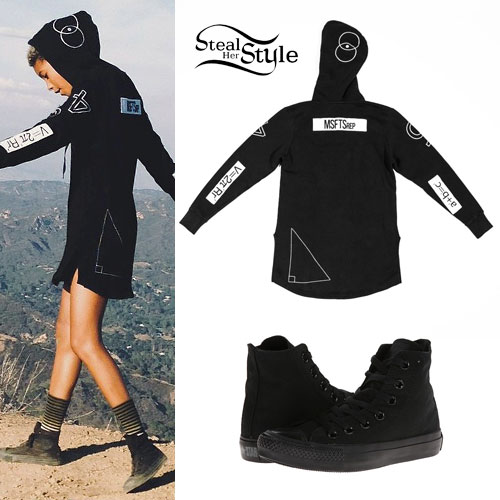 Willow Smith: Math Equations Hoodie