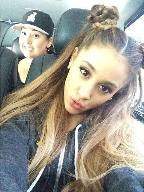 Ariana grande hair down 2014
