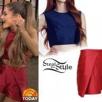 Ariana Grande on The TODAY Show, August 29th, 2014 - photo: agrande-news