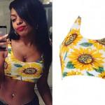 Bahja Rodriguez: Sunflower Bralet