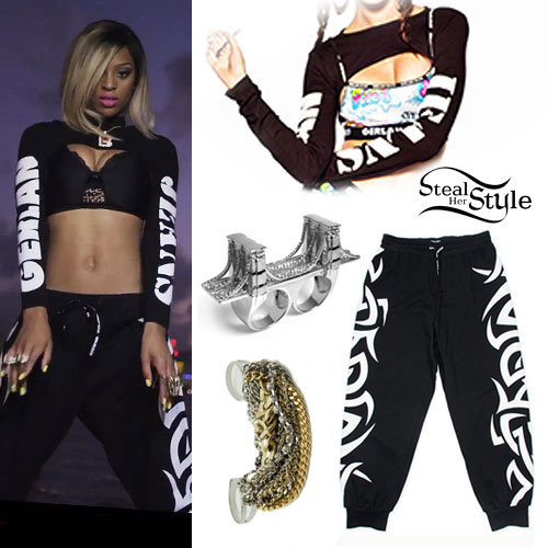 Brianna Perry: I'm That BITCH Music Video Outfit