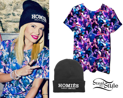 Chanel West Coast: Drake Tee, Homies Beanie
