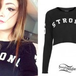 Chrissy Costanza: 'Strong' Long Sleeve Top