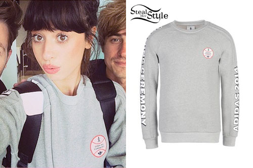 Foxes: Grey Baseball Sweatshirt
