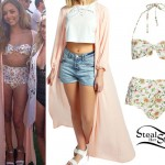 Jade Thirlwall in Ibiza, September 5th, 2014 - photo: littlemix-news
