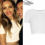 Jade Thirlwall with a fan in London, September 19th,  2014 - photo: littlemix-news