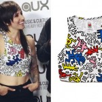 LIGHTS: Keith Haring Crop Top