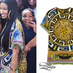 Nicki Minaj: Greek Meander Print Tee