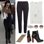 Selena Gomez: Black Pants, Graphic Tank