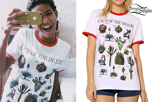 Willow Smith: 'Cacti of the Desert' T-Shirt