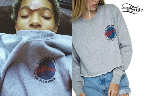 Willow Smith: California Sweatshirt