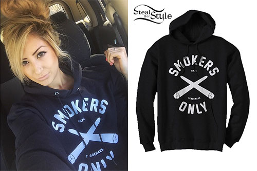 Allison Green: Smokers Only Hoodie