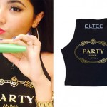 Becky G: 'Party Animal' Crop Top