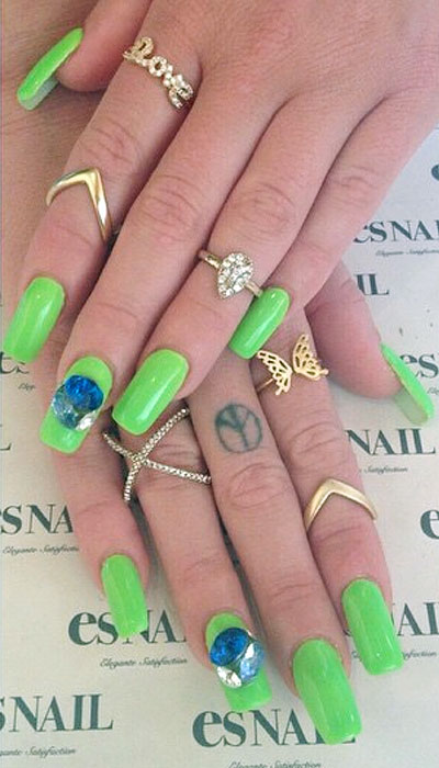 Chanel west coast nails steal her style for 3d nail salon midvale utah