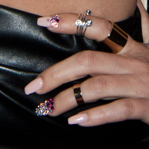 Chanel west coasts nail polish nail art steal her style page 2 prinsesfo Choice Image