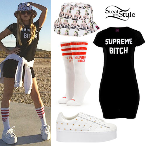 Chanel West Coast: 'Supreme Bitch' Dress Outfit
