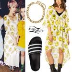 DEV: 'Honey Dip' Smiley Face Dress