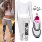 Jasmine Villegas: 'Bonnie' Sweatpants Outfit