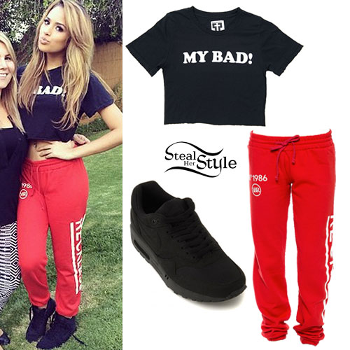 Jasmine Villegas: 'My Bad' Tee, 'Reckless' Sweatpants