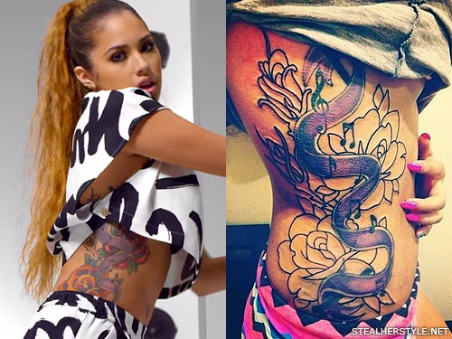 b0815751d Jasmine Villegas' Tattoos & Meanings | Steal Her Style