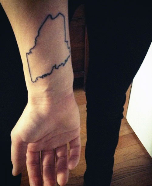 jess abbott state forearm tattoo steal her style
