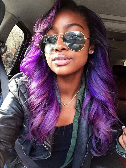 Justine Skye S Hairstyles Amp Hair Colors Steal Her Style