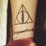 kristen-may-deathly-hallows-wrist-tattoo