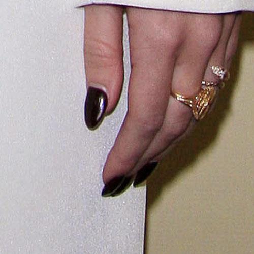 Red Nail Polish Lana Del Rey