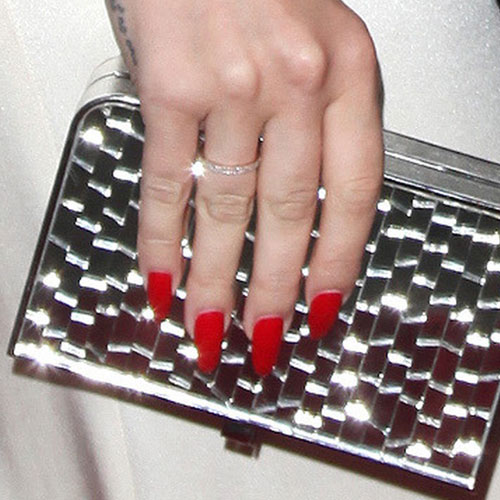 Lana Del Reys Nail Polish Nail Art Steal Her Style