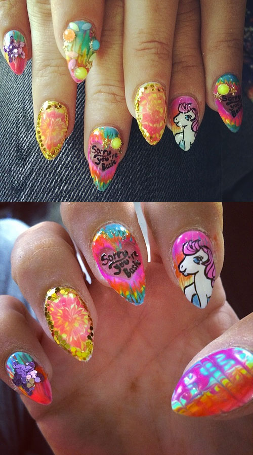 Lily Allen\'s Nail Polish & Nail Art | Steal Her Style | Page 4