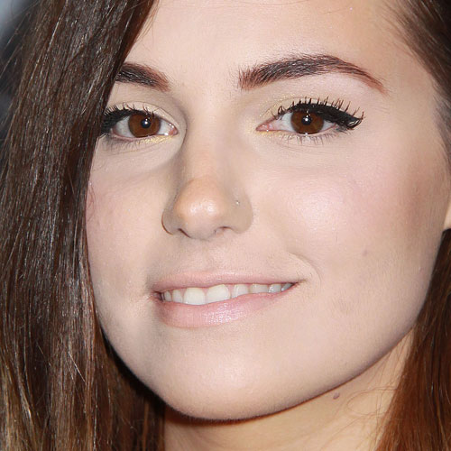 Marzia Bisognin Makeup Black Eyeshadow Yellow Eyeshadow