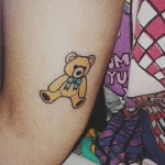 melanie-martinez-tattoo-bear