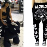 Mila J: Yin Yang Drop Crotch Pants