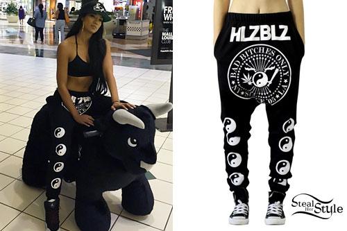 Mila J: Yin Yang Drop Crotch Pants