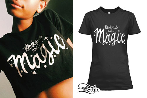 Willow Smith: 'Black Girls Are Magic' Tee