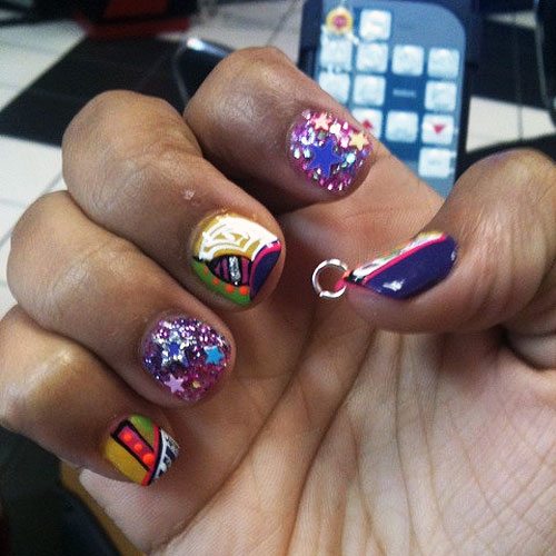 more Zonnique Pullins nails photosZonnique Pullins Nails