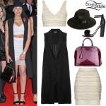 Amira McCarthy: Embellished Bralet & Skirt