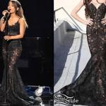 Ariana Grande: 2014 AMAs Outfits