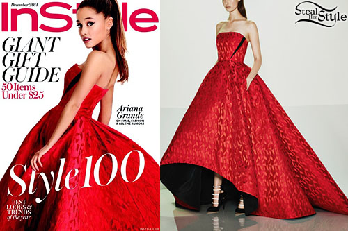 Ariana Grande for InStyle's December 2014 Issue - photo: arianagrandebr