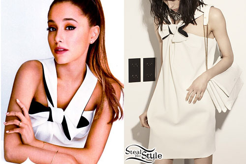 Ariana Grande for InStyle's December 2014 Issue - photo: fashionscansremastered
