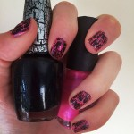 ariel-bloomer-nails-pink-black-shatter