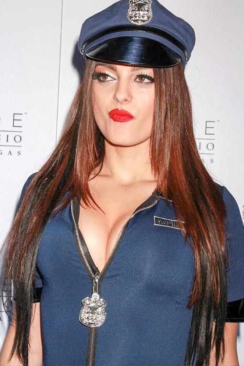 Bebe Rexha Straight Medium Brown Angled Extensions Hat Peek A Boo