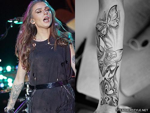 Wrist Tattoos Girls Tumblr Cher Lloyd's Tattoos &...