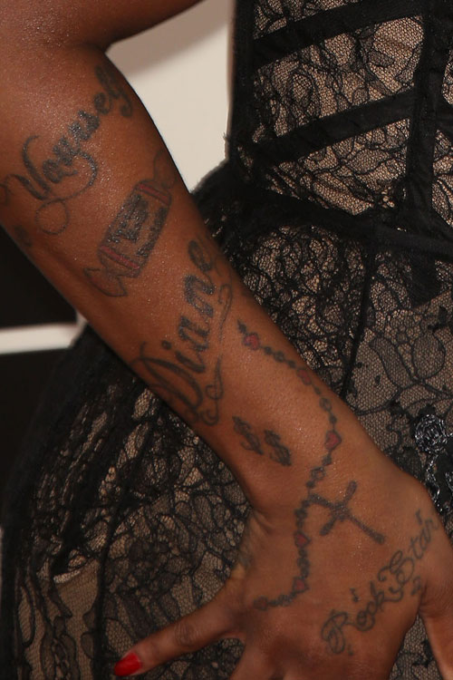 Fantasia Barrinos 12 Tattoos Meanings Steal Her Style
