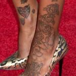 Fantasia Barrino Tattoos