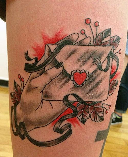 Hayley Williams Tattoos 2014