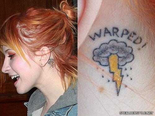 hayley-williams-warped-behind-ear-tattoo